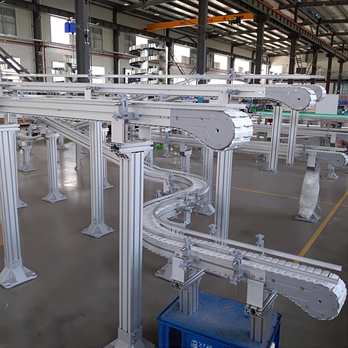 Flex aluminija konveijeru sistēma